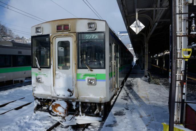 はじまり_ワンマン電車
