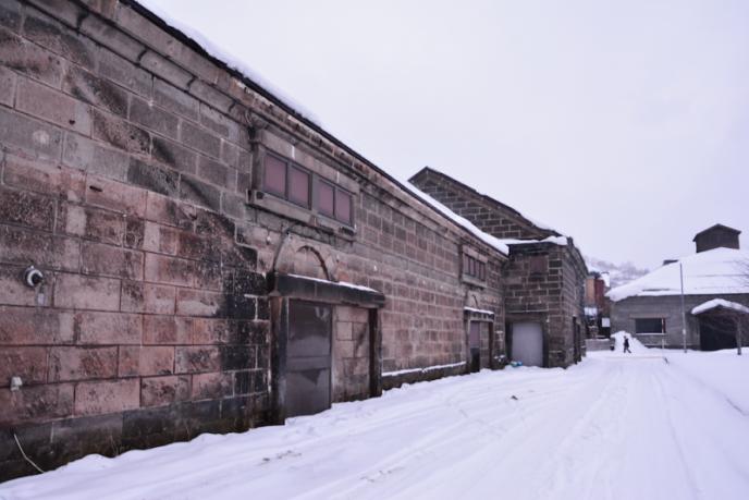 小樽_倉庫の屋根跡