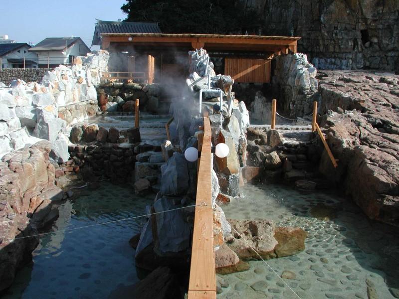 崎の湯前景横