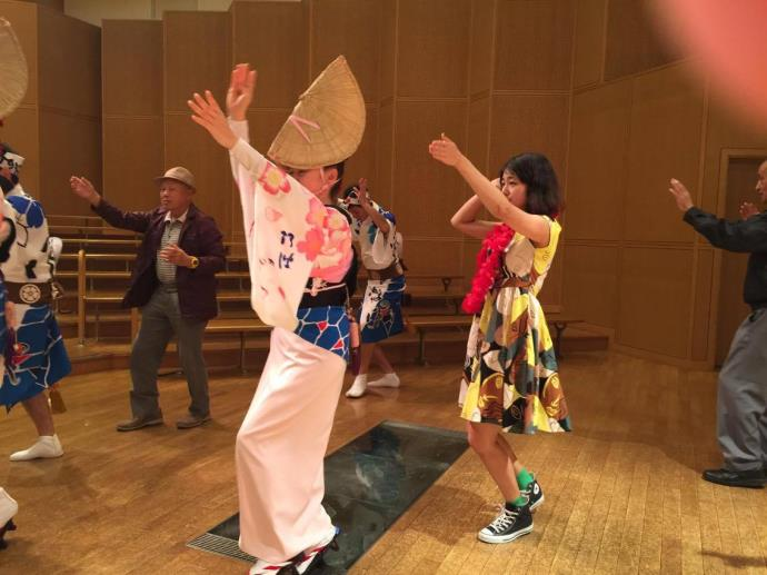 阿波踊り体験3