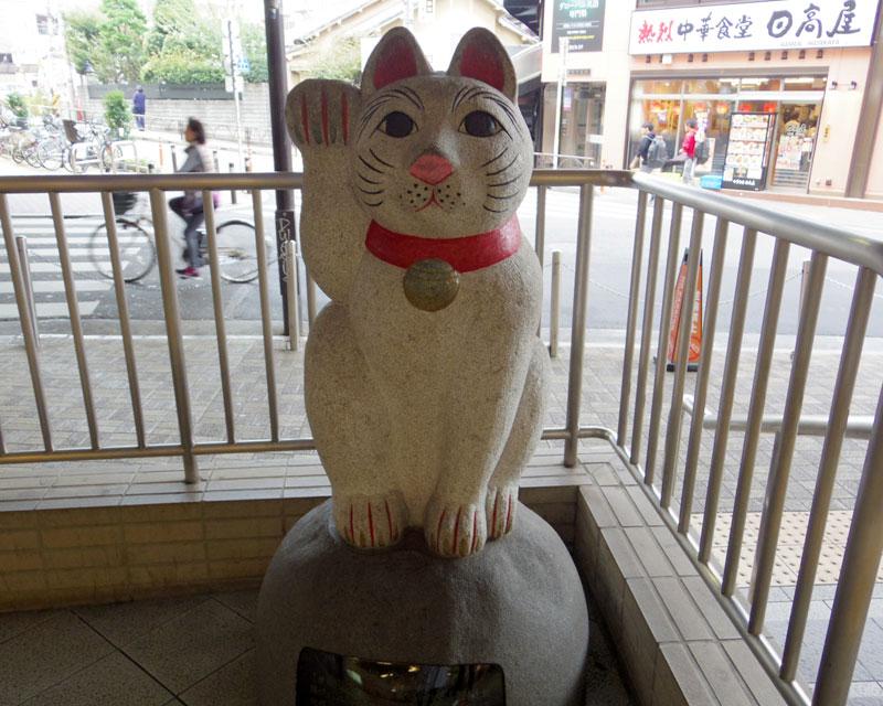 まずは東京都世田谷にある豪徳寺へ