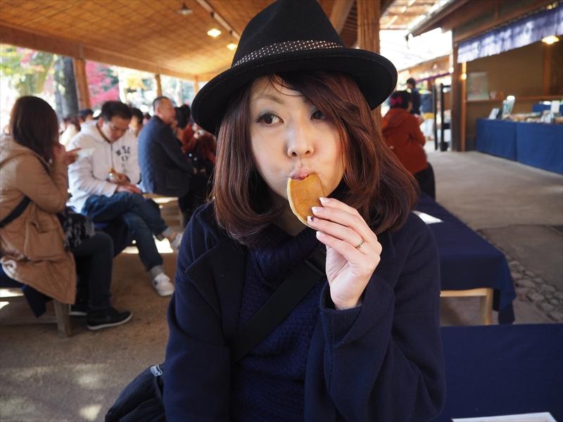 もちもちとした求肥のお菓子も京都感ありでおいしい