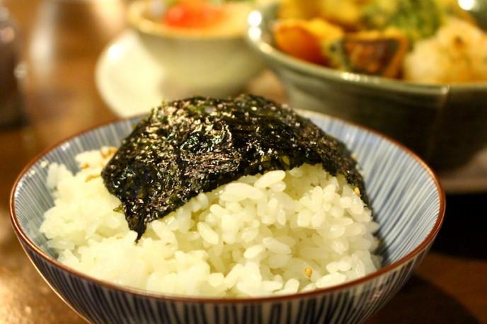 韓国海苔ご飯
