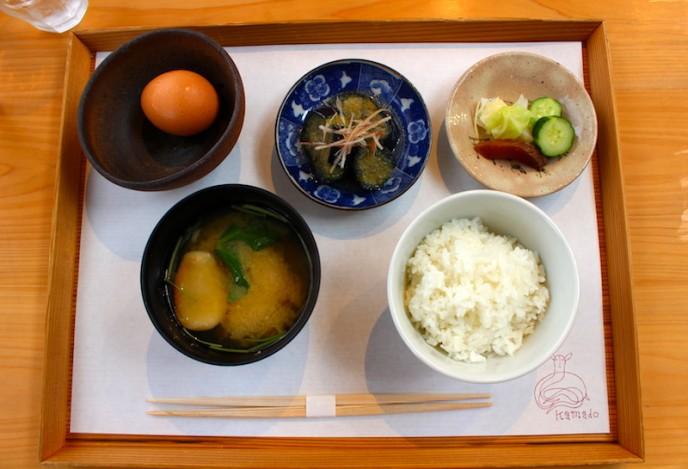 竃の朝ごはん(税込550円)