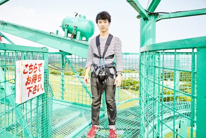 カメラマンのやんす君。ゆずの北川さんに似ているイケメンです。