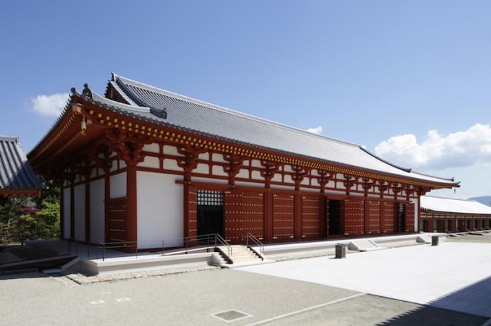薬師寺 食堂(写真提供:薬師寺)