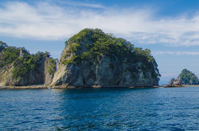 象島(アップ)