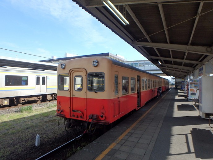 こちらは小湊鉄道の通常車両