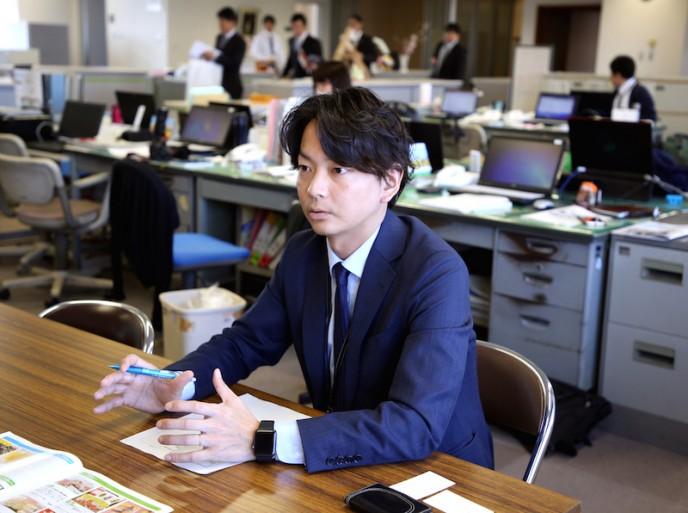 ※今回取材に同行していただいた、碧南市役所の坂本さん