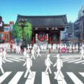 【アニメ聖地巡礼】「さらざんまい」の舞台・浅草をめぐってみた