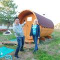 【福岡・宗像】「またあのサウナに入りたい」の想いでクラファン成功!イズバのロシア発「樽型サウナ」が最高だった