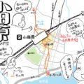 【終電レポ】小田原駅、それは明け方の渋谷を100倍に希釈した街