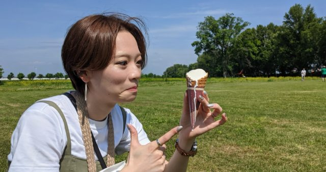 八紘学園 ソフトクリーム